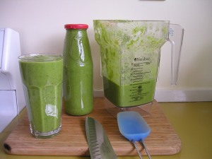 Finished Green Smoothie