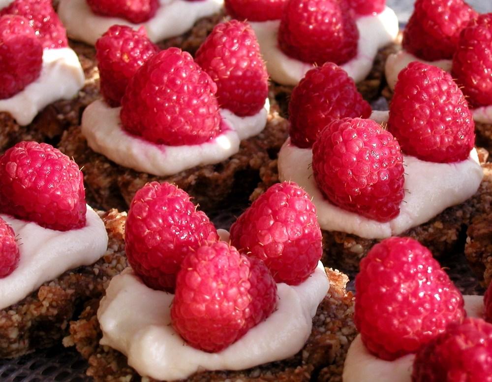 Raspberry Pecan Tartlets