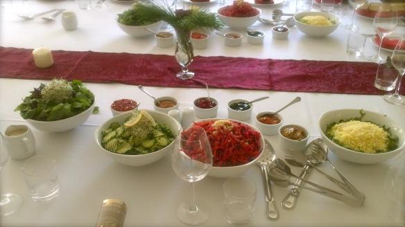 Fine Dining Salads