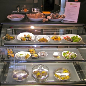 Rawdezvous Cafe display