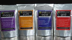 Superberries Maqui, Yum, Acai, Goji