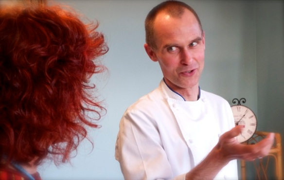 at recent chef training with Anna