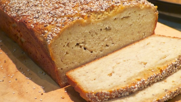 Almond Bread sliced