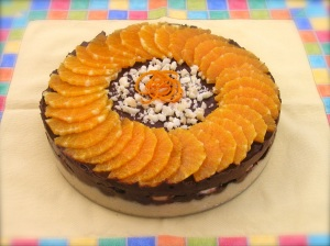 Orange Chocolate Torte